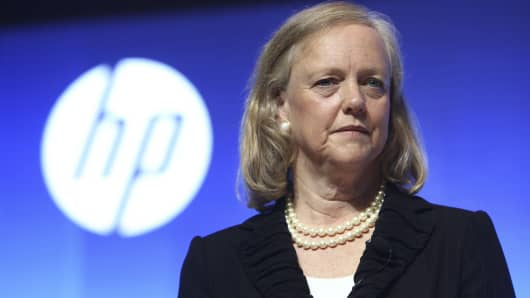 Meg Whitman, President and Chief Executive Officer of Hewlett-Packard.