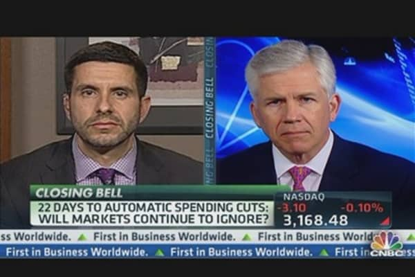 22 Days Till Automatic Spending Cuts