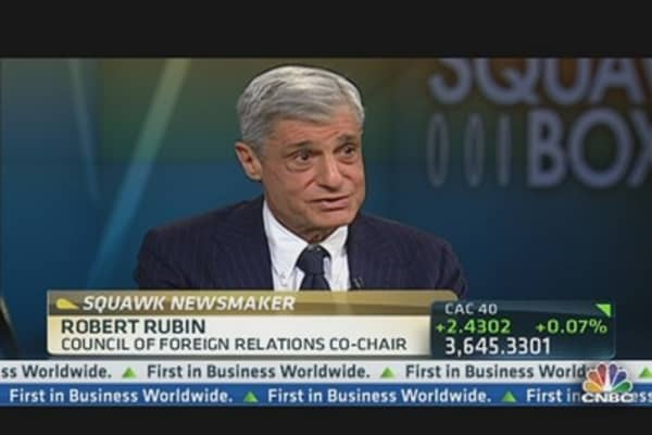 Robert Rubin on DC's Dysfunction