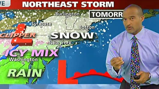 Winter Storm 'Nemo' Update