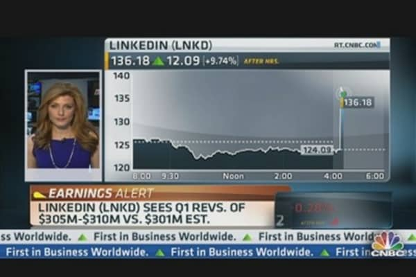 LinkedIn Q4 Earnings Per Share $0.35