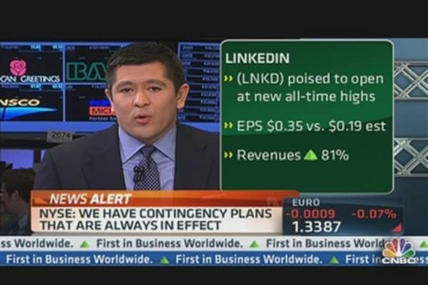LinkedIn's Blowout Quarter
