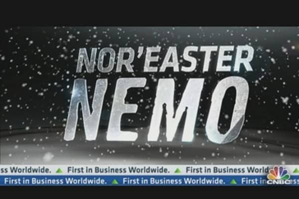 Nor'Easter Nemo: Travel Impact