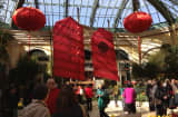 The Bellagio celebrates the Year of the Snake.