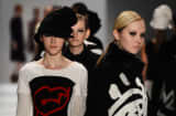 Models walks the runway at the Concept Korea Fall 2013 fashion show during Mercedes-Benz Fashion Week