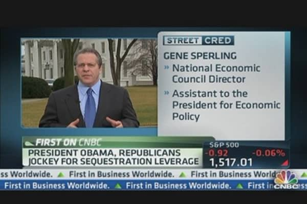President, GOP Jockey for Sequestration Leverage