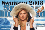 Sports Illustrated 2013 Swimsuit cover girl Kate Upton.
