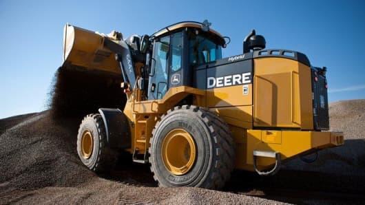 John Deere Hybrid Tractor