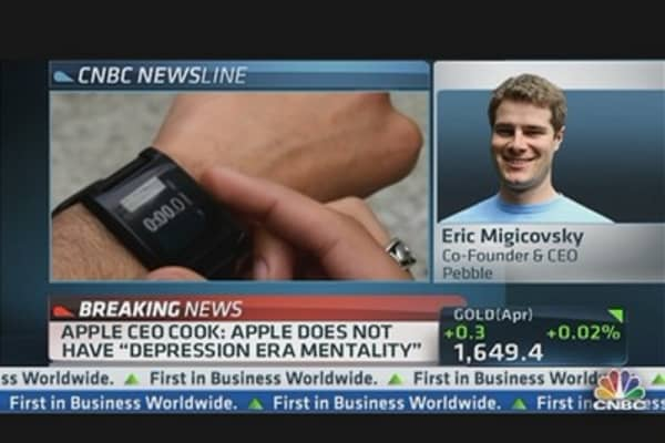 Pebble Watches Apple's Innovation