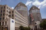 Procter & Gamble Co. (P&G) corporate headquarters in downtown Cincinnati, Ohio.