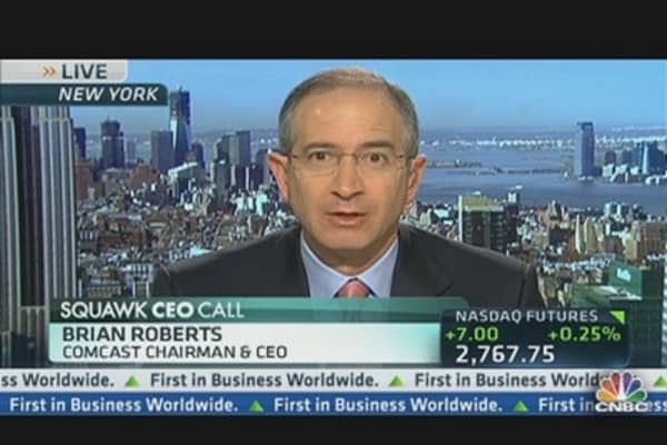 Comcast CEO Goes All in For NBCUniversal