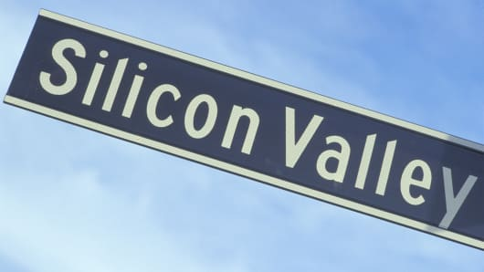 Silicon Valley street sign