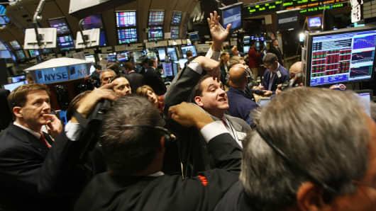 NYSE exchange floor