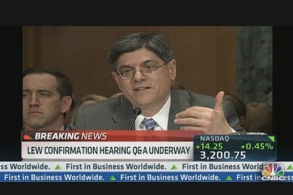 Senate: Lew on Cayman Island Investments
