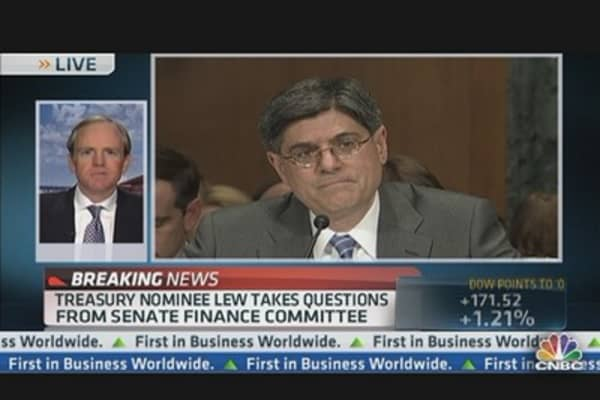 Senate: Jack Lew Questioned About Citi