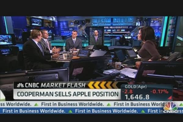 Cooperman Buys Facebook, Sells Apple