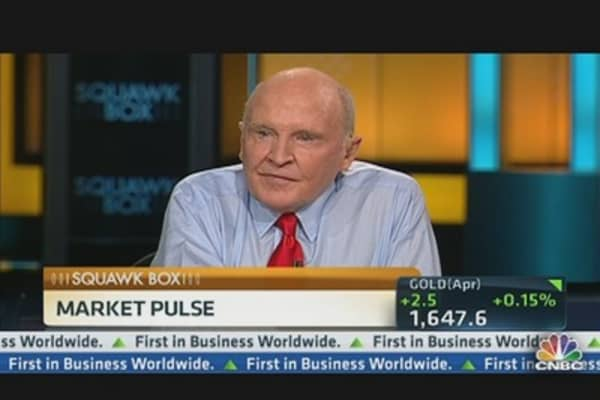 Welch: Investors' Hunt for Yield Leads Them Stocks