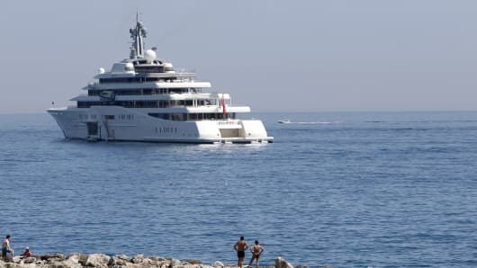 'Eclipse' owned by Russian businessman Roman Abramovitch.