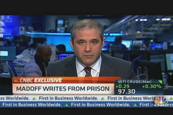 Madoff's Missives from Prison