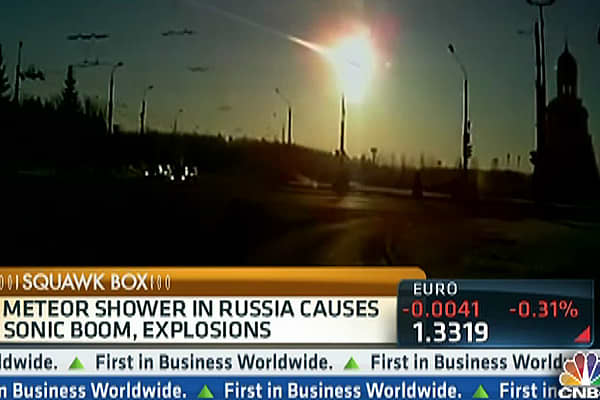 Incredible Video of Meteor Shower in Russia