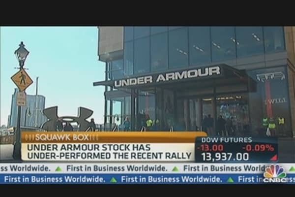 Under Armour Grows Up