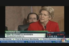 Warren Bashes Big Banks