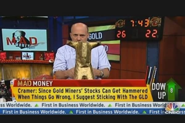Portfolio Protection? Cramer's Take on Owning Gold