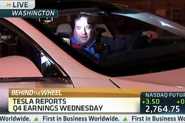 CNBC's Tesla Test Drive