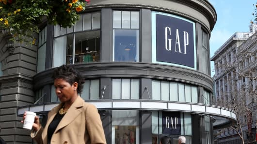 The Gap's flagship store in San Francisco