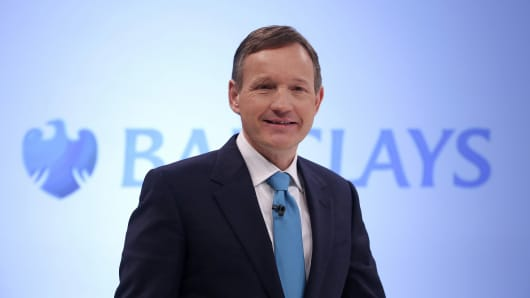 Antony Jenkins, CEO of Barclays PLC.