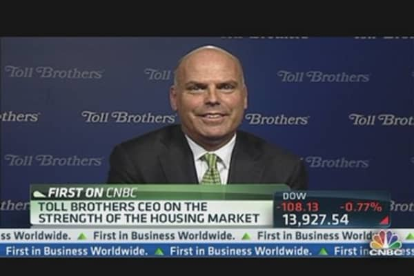 Toll Brothers CEO: We're Feeling Good About 2014