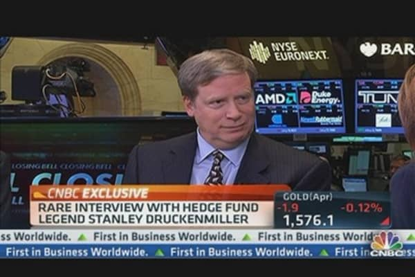 Druckenmiller: Congress Not Getting the Market Signal