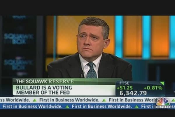 Fed's Bullard: This is Monetary Policy That 'Packs a Punch'