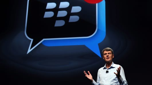 BlackBerry's Thorsten Heins