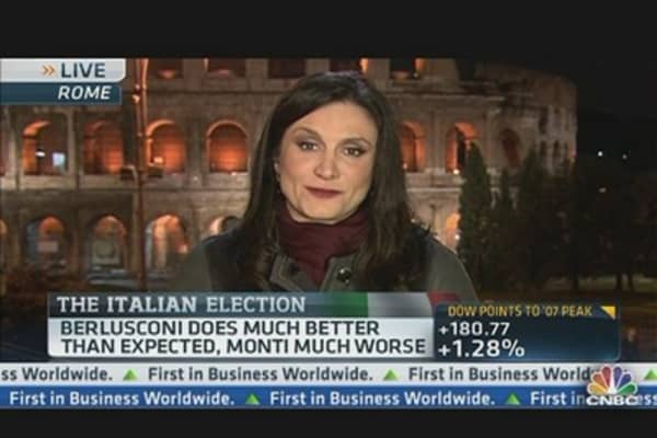 Italian Polls Close, Results Inconclusive