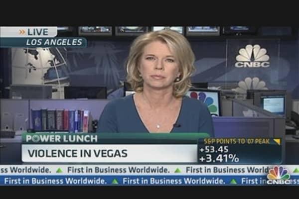 Vegas Violence Scaring Tourists?