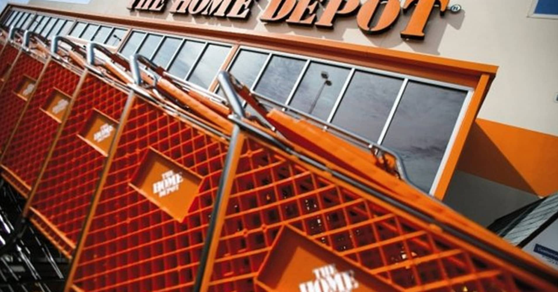 home depot posts earnings of 95 cents a share vs 90 cents estimate