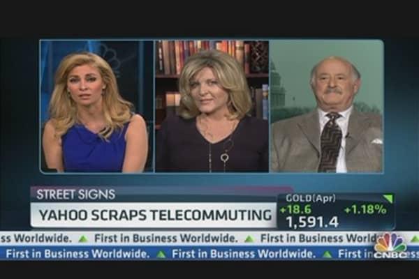 Yahoo Scraps Telecommuting