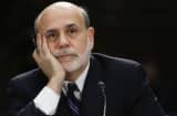 Fed Chairman Ben Bernanke during his Senate testimony Tuesday.