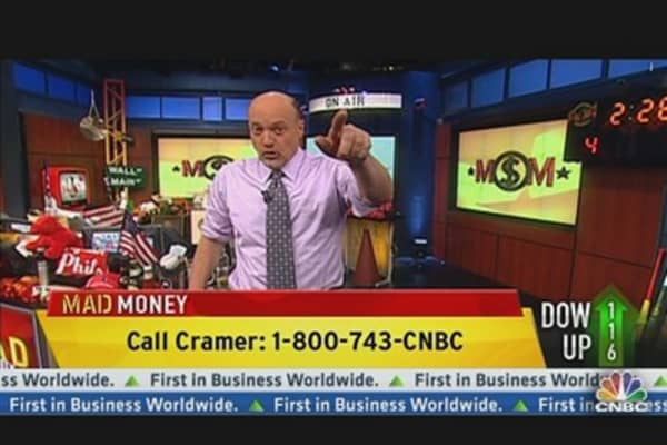 You Watch Italy, Cramer's Watching Stocks