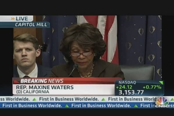How Will Sequestration Impact Economy?: Rep. Waters