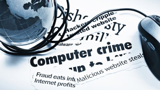 Global cyber hacking