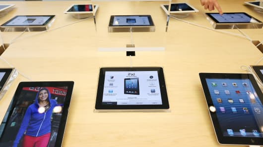 Apple iPad products.