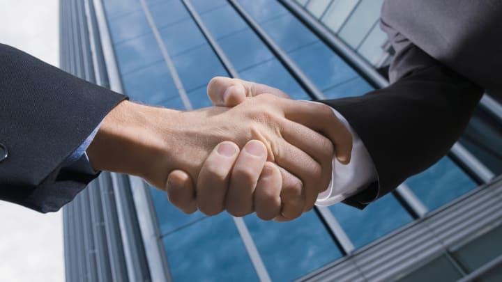 Handshake M&A mergers