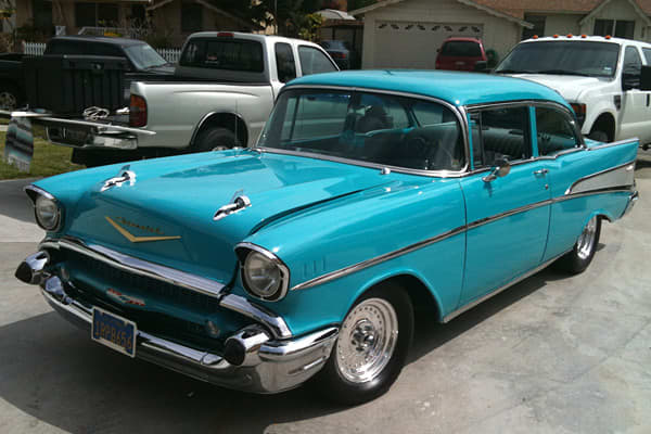 Car Chasers 1957 Chevy