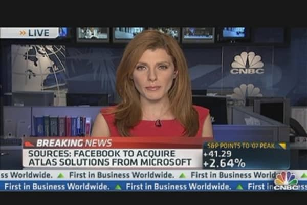 FB to Acquire Atlas Solutions From Microsoft