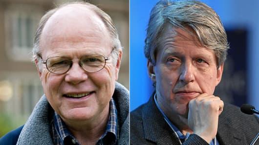 Karl E. Case (L), Robert J. Shiller (R)
