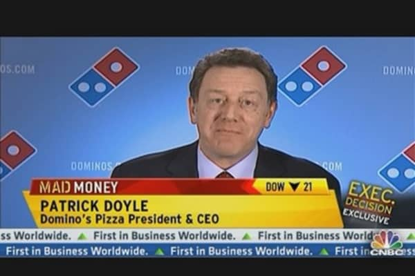 Domino's Pizza CEO: We Have Room to Grow