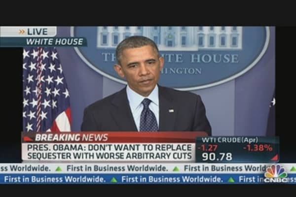 President Obama Sequester Talks Update