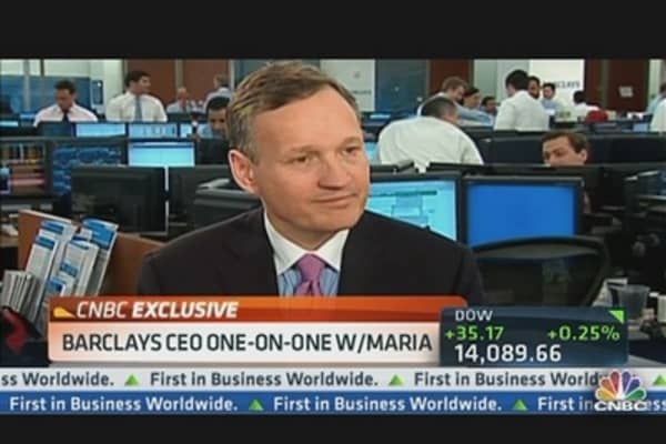 Barclays CEO: We're Very Happy With the Investment Bank